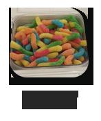 Sour Gummi Worms
